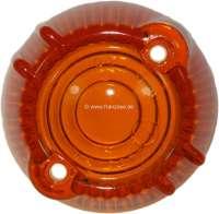 R4/Caravelle, Blinkerkappe orange, rund, vorne rechts. Passend für Renault R4 + Renault Caravelle. - 84005 - Der Franzose