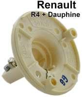 R4/Dauphine, Blinkerfassung vorne, für runden Blinker. Passend für Renault R4, 1 Serie + Renault Dauphine. Aussendurchmesser: 62mm. Or. Nr. 0854573400 - 85407 - Der Franzose