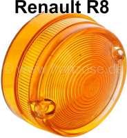 R8, Blinkerkappe rund. Passend für Renault R8. - 85147 - Der Franzose