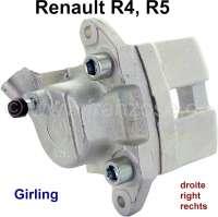 R4/R5, Bremssattel, vorne rechts (Neuteil). Bremssystem: Lucas-Girling. Passend für Renault R4 + R5. Kolbendurchmesser: 45mm. Or. Nr. 7701020245 - 84129 - Der Franzose