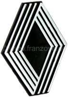 Renault Emblem, universal. Abmessung: 62 x 50mm. Material: Kunststoff. - 87202 - Der Franzose