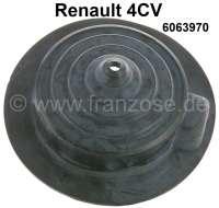 4CV, Gummimanschette für den Schalthebel (im Innenraum). Passend für Renault 4CV. Or. Nr. 6063970 | 82470 | Der Franzose - www.franzose.de