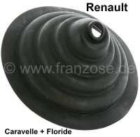 Caravelle/Floride, Gummimanschette für den Schalthebel (im Innenraum). Passend für Renault Caravelle + Floride. - 82466 - Der Franzose
