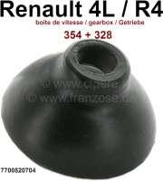 R4, Manschette auf dem Getriebe, für die Abdichtung Schaltstange (für Getriebe 354 + 328). Durchmesser: 11mm + 35mm. Höhe: 21mm. Passend für Renault R4 + R6. Or. Nr. 7700520704. - 81359 - Der Franzose