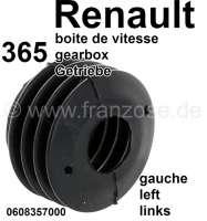 Dichtung links, für die Schaltstange Achse, am Getriebe (365 Getriebe). Passend für alle Renault mit 365 Getriebe. Z.B Renault R12, R16, R20, Fuego, Alpine. Or. Nr. 0608357000 - 81350 - Der Franzose