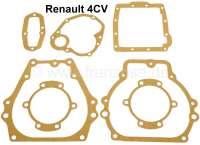 Getriebedichtsatz, passend für Renault 4CV. - 80010 - Der Franzose