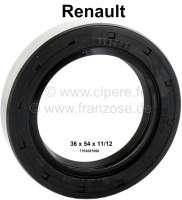 Simmerring Differential 36 x 54 x 11/12. Passend für Renault R5, R12, R16, R20. Made in Germany. - 81310 - Der Franzose