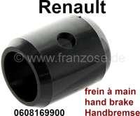 Führung (aus Kunststoff) für den Handbremshebel. Passend für alle Renault, mit dem Handbremshebel unter dem Armaturenbrett. Renault R4, R5, 6, R12, R16, Estafette. Or. Nr. 0608169900 | 84367 | Der Franzose - www.franzose.de