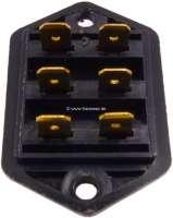 Elektrik Verbinder (Sicherung). Passend für Renault R4, R8, R10, R12, R16. Or. Nr. 77.00.502.746 -1 - 85350 - Der Franzose