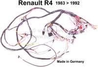 R4, Hauptkabelbaum, passend für Renault R4, von Baujahr 1983 bis 1992. Made in Germany. - 85363 - Der Franzose