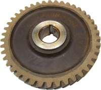 4CV/Dauphine/Floride/Juvaquatre, Nockenwellen Antriebsrad (Novotex). 42 Zähne. Aussendurchmesser: 132mm. Innendurchmesser: 24mm. Original von Ferrozell -1 - 81251 - Der Franzose