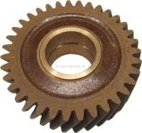 R4/R3, Stirnrad (Zwischenrad) Novotex. Passend für Renault R3 + R4. 35 Zähne. Innendurchmesser: 35,75mm. Außendurchmesser: 100,06mm. -1 - 81256 - Der Franzose