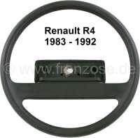 Lenkrad, passend für Renault R4, ab Baujahr 1983. Renault R5. Ohne Lenkradnabenabdeckung! Original Renault, kein Nachbau. Or. Nr. 7704001260 | 83278 | Der Franzose - www.franzose.de
