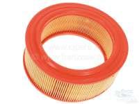 Luftfilter - Einsatz (System Lautrette, A196). Passend für Renault R4 (1108ccm), R1128, S128, R2370, 201B, 239B.  Renault R6, R8, Caravelle S, Estafette. Aussendurchmesser: 200mm. Innendurchmesser: 145mm. Höhe: 79mm. -1 - 82062 - Der Franzose