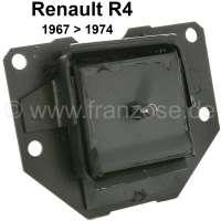 R4, Getriebehalter für Renault R4, von Baujahr 1967 bis 1974. - 81331 - Der Franzose