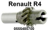 Ölpumpen Antriebwelle (Verteilerantrieb) für Renault R4. Für Verteiler mit 2 Spaten. Or. Nr. 0555485700 - 81348 - Der Franzose