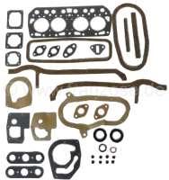 Dauphine, Motordichtsatz, inclusive Zylinderkopfdichtung. Passend für Renault Dauphine, ab Baujahr 1956 (845ccm, 5CV, R1090, R1090A, R2101) | 81015 | Der Franzose - www.franzose.de