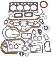 Estafette/R12, Motordichtsatz komplett, inclusive Zylinderkopfdichtung. Passend für Renault Estafette 1.3, ab Motornummer 212539. Renault R12 1,3. Verwendet in Motoren: 810 01, 810 02, 810 2/97, 810 6, 810 10, 810 5. - 81307 - Der Franzose