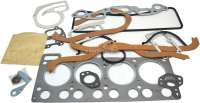 Estafette/R8/R10, Motordichtsatz komplett (1108ccm), inclusive Zylinderkopfdichtung. Passend für Renault Estafette (R2132), bs Baujahr 1981. Renault R8 + R10, ab Baujahr 1962. Original Hersteller. - 81115 - Der Franzose