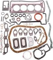 R12/R16/R17, Motordichtsatz komplett, inclusive Zylinderkopfdichtung. Passend für Renault R16, R12, R17. Motor: 807 03, 807 04, 807 05, 807 10. Hubraum: 1565ccm. Bohrung: 77mm. - 81301 - Der Franzose