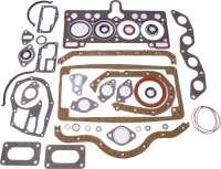 R5, Motordichtsatz. Passend für Renault R5 1,4 + 1,4 Turbo. Renault Alpine R5 1,4 Turbo. Zylinderkopfdichtung: 1,4mm - 80111 - Der Franzose