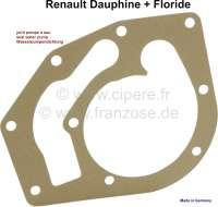 Wasserpumpendichtung Renault Dauphine, Floride - 82478 - Der Franzose