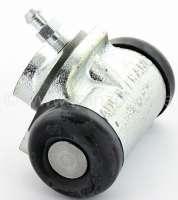 4CV, Radbremszylinder vorne. Passend für Renault 4CV, von Baujahr 04/1953 bis 02/1956. Kolbendurchmesser: 22 mm. Ankerplattenbohrung: 32mm. Leitungsanschluss: 9 mm. Länge über alles: 54 mm. Made in France -1 - 80018 - Der Franzose