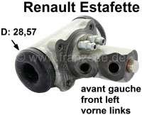Estafette, Radbremszylinder vorne links. Passend für Renault Estafette. Kolbendurchmesser: 28,57mm. Or. Nr. 7701365164 - 84316 - Der Franzose