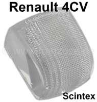 4CV, Blinkerglas weiß (1 Stück) Scintex. Passend für Renault 4CV. | 85405 | Der Franzose - www.franzose.de