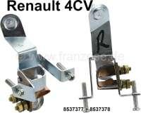4CV, Rücklicht Fassung, 2 Ausführung (1 Paar). Passend für Renault 4CV, 2 Ausführung. Or. Nr. 8537377 + 8537778 - 85391 - Der Franzose