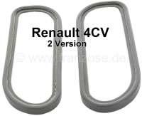 4CV, Rücklichtkappe Gummisatz, 2 Ausführung. Passend für Renault 4CV, 2 Ausführung. | 85393 | Der Franzose - www.franzose.de