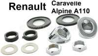 Caravelle/A110, Scheibenwischer Montagesatz. Passend für Renault Caravelle + Renault Alpine A110. - 85387 - Der Franzose