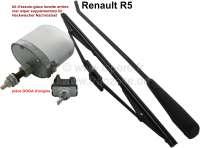 R5, Heckscheibenwischer Nachrüstsatz. Passend für Renault R5, erste Modelle. Original von DOGA. - 85221 - Der Franzose