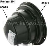 R4, Scheinwerfertopf Verschlußkappe hinten (aus Kunststoff). Passend für Renault R4. - 85075 - Der Franzose