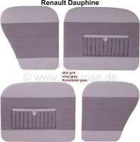 Dauphine%2C+T%FCrverkleidungen+Satz+%284+St%FCck%29.+Farbe%3A+Kunstleder+grau%2C+mit+Kartentasche.+Passend+f%FCr+Renault+Dauphine.