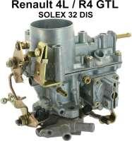 Vergaser SOLEX 32 DIS (Neuteil). Passend für Renault R4 GTL. - 82997 - Der Franzose