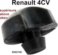 4CV, Gummianschlag Vorderachse oben (alte Version). Passend für Renault 4CV. Or. Nr. 6052126 - 83397 - Der Franzose