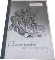 Reparaturanleitung für den Renault 4CV (Nachdruck). Nachdruck aus dem Bucheli Verlag. 50 Seiten. Sprache: Deutsch. - 88146 - Der Franzose