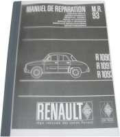 Werkstatthandbuch Nachdruck. Passend für Renault Dauphine R1090, R1091, R1093, ca. 500 Seiten. Sprache: Deutsch. Dauphine von Baujahr 1960 + 1961, Ausgabe von 1964. Nachdruck vom Original! - 88140 - Der Franzose