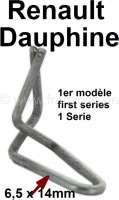 Dauphine, Klammer für die Tür Zierleiste. Passend für Renault Dauphine (1 Serie) - 87386 - Der Franzose