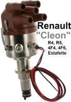 Zündanlage vollelektronisch. Passend für Renault R4 (1108ccm), R5, Estafette. Ohne Unterdruckanschluß! Verteilerkappe 90° abgewinkelt. Ersetzt die Zündverteiler Ducellier, Femsa, Bosch. Motor: 671, 688, 689, 708, 810.  R-222 C33Renault-4-Fourgon / 688 R-280 C52Renault 4 GTL / 688 R-244 D61Renault 4 GTL / 688 R-268 C52Renault 4 Savanne / 708 R-275/R287 C34Renault 5 engine / 800-10 R-268 C34Renault 5 engine / 689-10 R-248 C34Renault 5 engine / 810-25 R-248 C33Renault 5 engine / 810-26 R-294 D61Renault 5 engine / 810-29 R-308 C33Renault 5 / 1400cc engine R-230 C34Renault 5 AlpinR110DAF 55  B13055  R-249 C33Estafette R-213e 810-01 1289 cc  ZS & ZTSavanne, Estafette / 671 - 82892 - Der Franzose