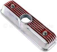 4CV/Dauphine/Floride, Ventildeckel aus Aluminium. Farbe: rot. Passend für Renault 4CV, Dauphine + Floride. Or. Nr. 8535883 -1 - 80160 - Der Franzose