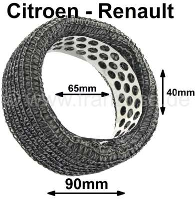Citroen-2CV Air cleaner element for 2CV from the fifties + Renault R4 from the sixties and many Renaul