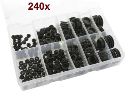 Renault Popular assortment of rubber Wiring & Blanking grommets. Wiring Grommets from 6mm to 16mm.