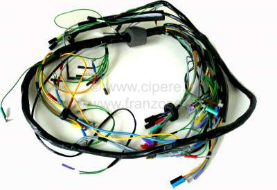 Citroen-2CV Main cable harness, suitable for Citroen 2CV6, starting from year of construction 07/1981