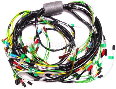 Citroen-2CV Main cable harness, suitable for Citroen Mehari, starting from year of construction 09/197