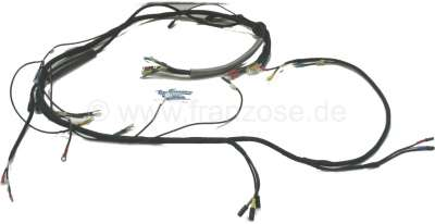 Citroen-2CV Main cable harness for Citroen 2CV, to year of construction 10/1954. Original-faithfully w