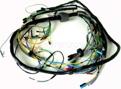 Citroen-2CV Main cable harness for Citroen 2CV, Installed from year of construction 10/1954 to 1962. 6
