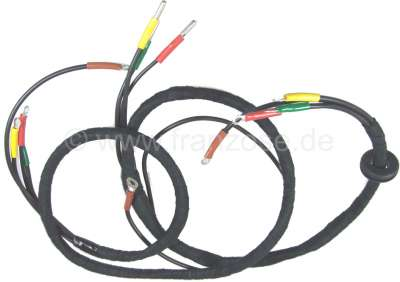 Citroen-2CV Wiring harness in front headlight carrier, for 2CV from 1954 to 1962, 6 Volt  technology.