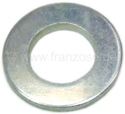 Citroen-2CV Brake caliper fixing bolt washer. (for the screw 13099). Suitable for Citroen 2CV6.